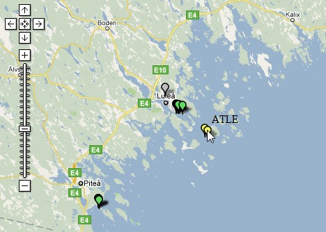 Picture of AIS-map