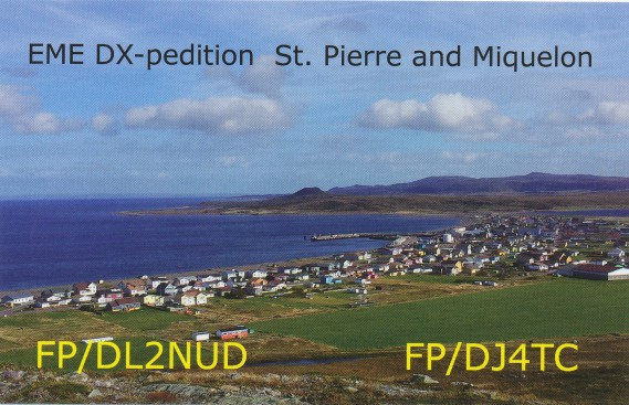 SM2ILF first station connecting FP St.Pierre and Miquelon